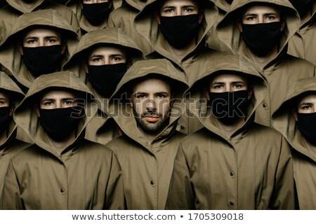 Scary man with mask Stock photo © badmanproduction