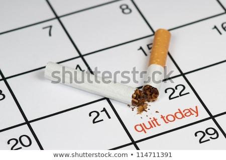 Quit smoking today concept Stock photo © stevanovicigor