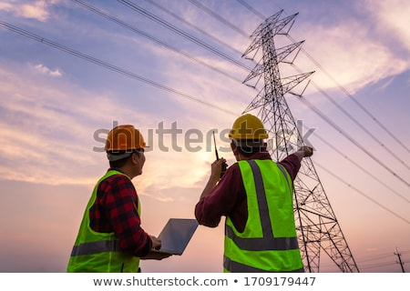 High tension power line Stock photo © ssuaphoto