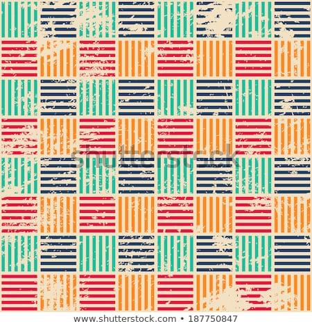 raster seamless basket twill weave pattern stock photo © creatorsclub