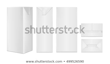 Milk or Juice Carton Packages Stock photo © robuart