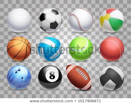 Basket balle illustration équipements sportifs grand orange Photo stock © robuart