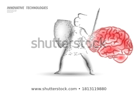 Brain Protection Stock photo © Lightsource