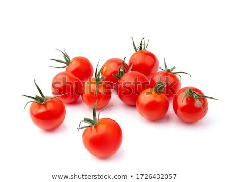 orgânico · videira · tomates · cereja · isolado · branco · fruto - foto stock © pakhnyushchyy