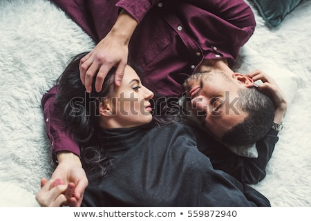 Couple hugging a tree, close up Stock photo © IS2