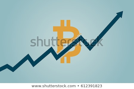 Bitcoin oro 3D segno simbolo icona Foto d'archivio © Krisdog