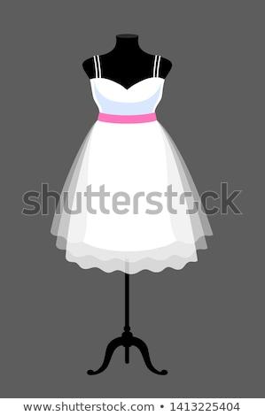 Mannequin dressed in beautiful cocktail dress Stock photo © gsermek