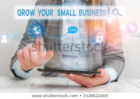 Grow Your Small Business - Business Concept. Stock photo © tashatuvango