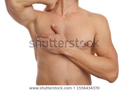Gespierd mannelijke torso naakt sterke Stockfoto © MilanMarkovic78