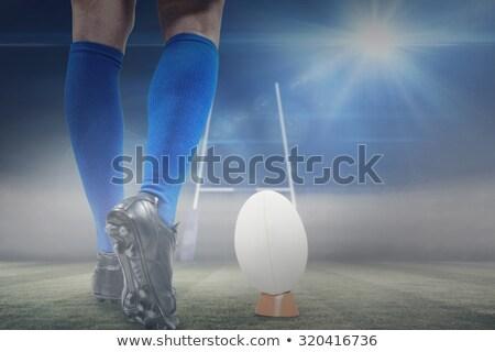 basso · sezione · atleta · nero - foto d'archivio © wavebreak_media