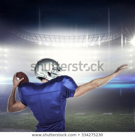 imagen · atleta · pie · hombre - foto stock © wavebreak_media