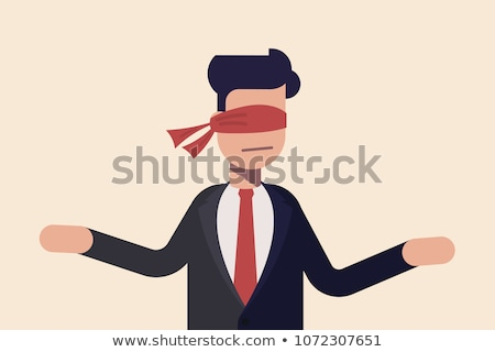 indecisive covered businessman decree stock photo © ra2studio