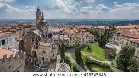 Bergamo duomo in italy Stock photo © boggy