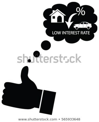 Autó pénz takarékosság összeomlás illusztráció érme Stock fotó © lenm