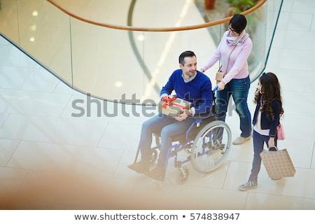 compras · andar · pernas · três - foto stock © kzenon