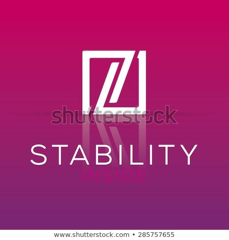 Magenta carta logotipo ícone assinar Foto stock © blaskorizov