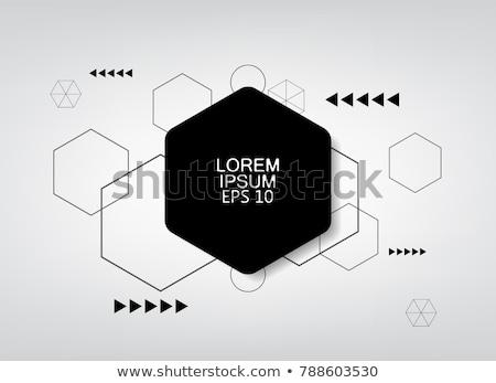 分子 ベクトル ロゴ デザイン 背景 ストックフォト © blaskorizov