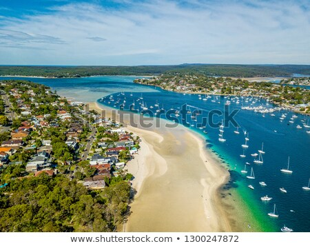 tengerpart · Sydney · Ausztrália · part · déli · égbolt - stock fotó © lovleah