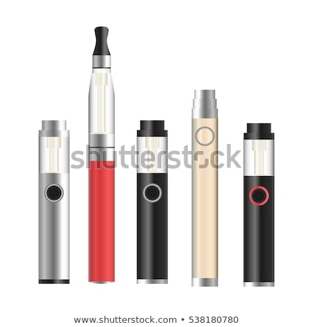 Vector set e-cigarette vape pen Stock photo © netkov1