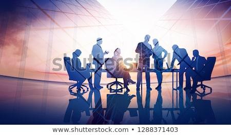 бизнеса · Финансы · договор · иллюстрация · шаблон · пер - Сток-фото © olegtoka