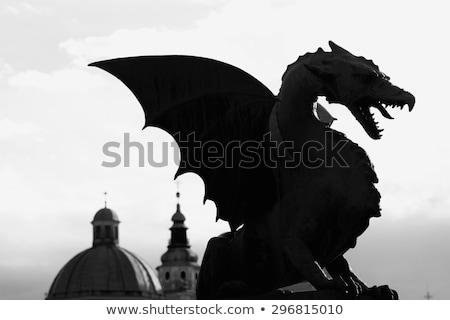 cavaleiro · cavalo · engraçado · desenho · animado · vetor - foto stock © bluering