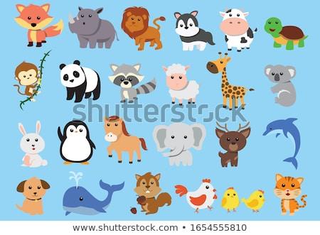 tiger animal character cartoon illustration stock photo © izakowski