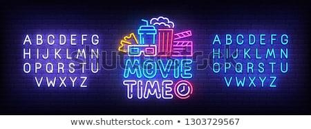 Stockfoto: Cinema And Movie Time