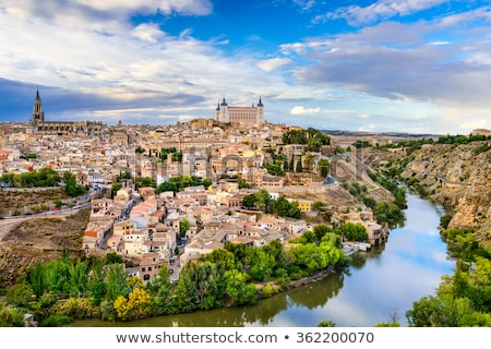 view of toledo spain stock photo © borisb17