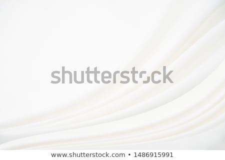 銀 抽象的な 芸術 シルク テクスチャ 波 ストックフォト © Anneleven