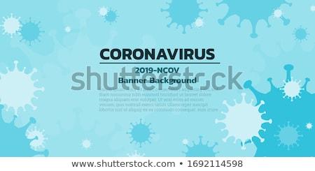Coronavirus bannière médicaux monde santé science Photo stock © SArts