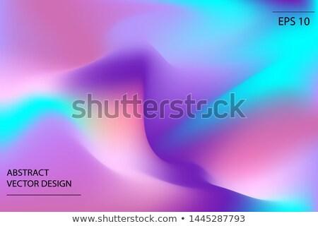 Modernes liquide couleur design vecteur futuriste Photo stock © articular