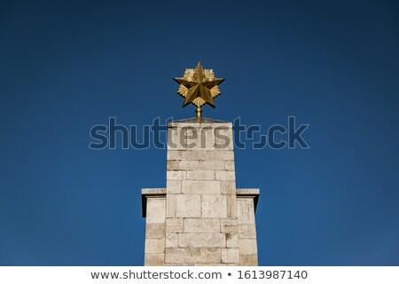 Sovjet- Rood leger Boedapest Hongarije vrijheid Stockfoto © borisb17