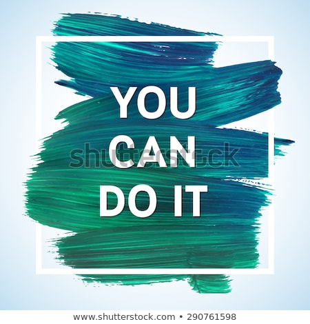 you can do it in colour Stock photo © marinini
