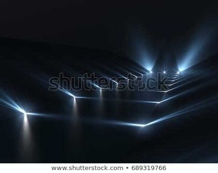 3D escuro futurista abstração projeto abstrato Foto stock © FransysMaslo