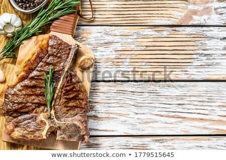 гриль · сторона · кукурузы · фон · ресторан - Сток-фото © supercrimson