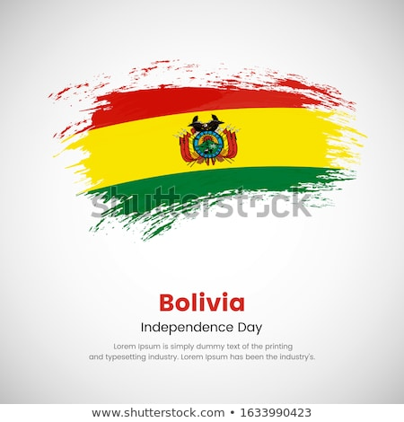 Bolivya grunge bayrak eski bağbozumu grunge texture Stok fotoğraf © HypnoCreative