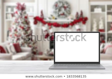 defter · hediye · vermek · yalıtılmış · beyaz · çalışmak - stok fotoğraf © leeser
