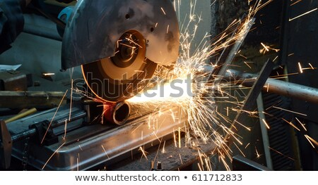 plumber cutting pipe stock photo © photography33