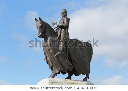 Statue of Robert the Bruce  Stock photo © Hofmeester