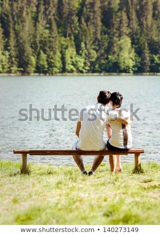 mooie · heldere · groene · park · romantische - stockfoto © hasloo