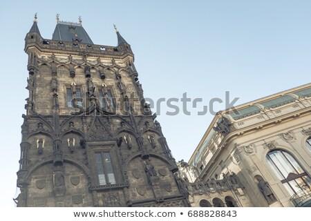 Прага ворот муниципальный дома Сток-фото © photocreo