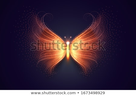 abstract magical colourful silhouette  stock photo © pathakdesigner