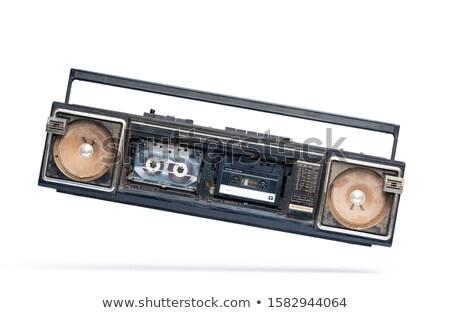 古い ラジオ ヴィンテージ アンティーク 表 ストックフォト © REDPIXEL