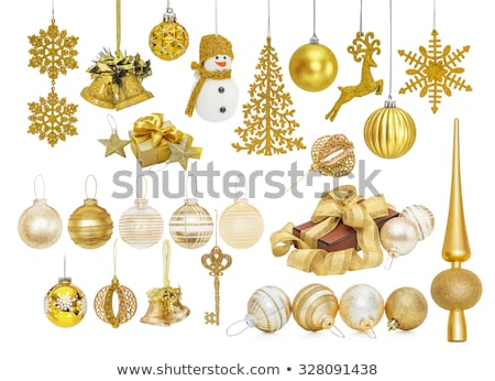 gifts hooked on a Christmas tree Stock photo © photography33