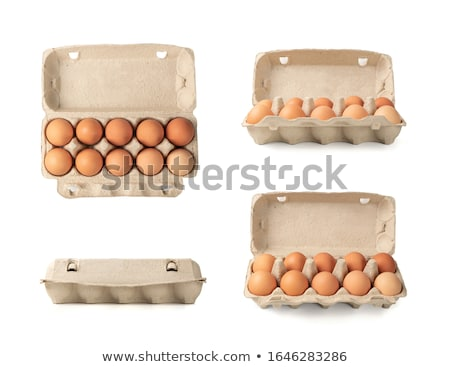 eggs in container stock photo © gladiolus