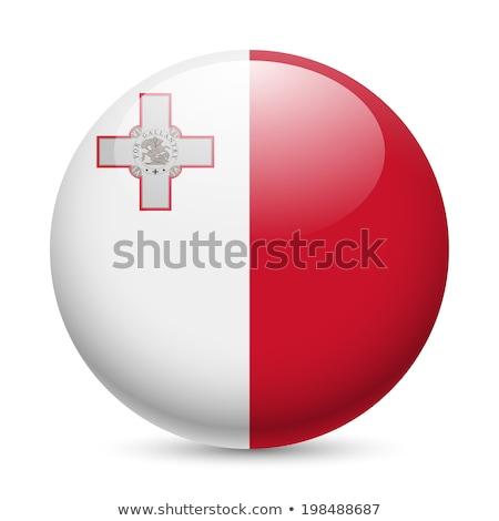 bandera · Malta · textura · viaje · viento · banner - foto stock © zeffss