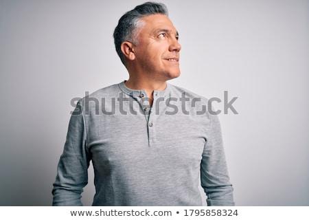 Stok fotoğraf: Yakışıklı · moda · portre · yakışıklı · adam · egzotik