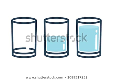 filling a drinking glass Stock photo © prill