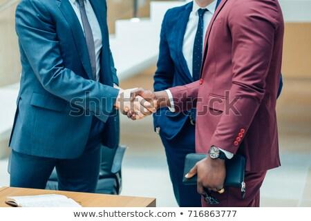corporate · etiquette · portret · jonge · manager - stockfoto © pressmaster
