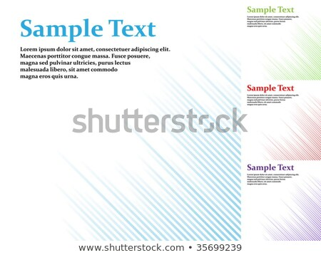 Abstract one tone stripy vector background with copy space. stock photo © tuulijumala